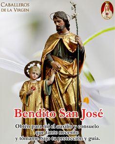 (33) Caballeros de la Virgen (@Cab_Virgen) / Twitter Spiritual Cleansing, Jesus Pictures, St Joseph, God Jesus, Mother Mary, Beautiful Pictures, Religion, Spirituality, Wonder Woman