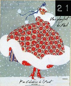 New Fashion Illustration Winter Snow Vintage Christmas Cards Ideas Art Vintage, Vintage Cards, Vintage Images, Vintage Posters, Vintage Woman, Illustration Noel, Christmas Illustration, Winter Illustration, Art Nouveau
