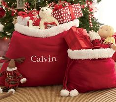 Santa Bags | Pottery Barn Kids
