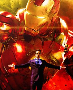Tony Stark - Iron Man.  Iron Man 3 will be great...can we have Bruce Banner make a cameo????