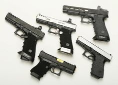 What class do you shoot in? Glock Stippling, Glock 9mm, Custom Glock, Tactical Knives, Tactical Gear, Fire Powers, Military Guns, Guns And Ammo, Firearms