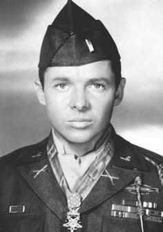 Audy Murphy, most decorated US soldier and Hollywood actor