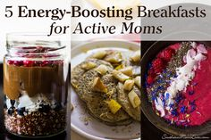 I have a guest post today from the amazing Tiffany Watts of Dilesia, a website for newbie and experienced cooking and baking enthusiasts. She's written a drool-worthy post of 5 Energy-Boosting Breakfasts for Active Moms to help you feel your best while keeping up with the kids!