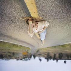 Creative self portrait photography idea |  Abstract selfie | Unusual selfie ideas