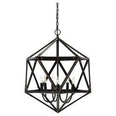 Fadri Pendant Light Bronze Finish - Signature Design by Ashley
