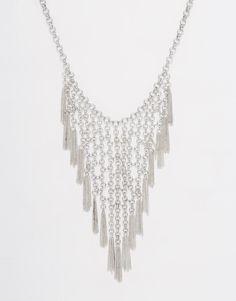 Image 1 ofPieces Tassel Fringe Necklace