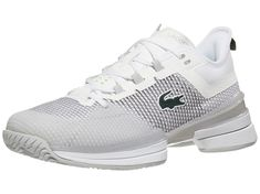 Lacoste AG-LT 21 Ultra White/Grey Women's Shoes Tennis Warehouse, Women's Shoes, Baby Shoes, Tennis Wear, Lacoste, Stylish Outfits, Active Wear, 21st, Tennis