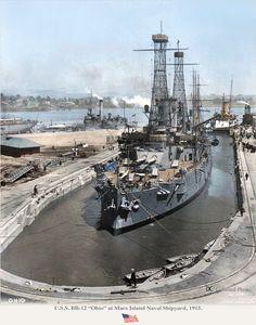 Mare Island Naval Shipyard 1915