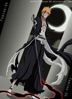 ichigo kurosaki by FabianSM on DeviantArt Ichigo Manga, Manga Bleach, Bleach Drawing, Ichigo Y Rukia, Bleach Fanart, Shinigami, Bleach Characters, Anime Characters, Ichigo Kurosaki Wallpaper