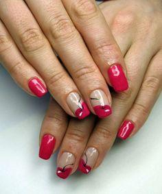 French cherry nails :: one1lady.com :: #nail #nails #nailart #manicure