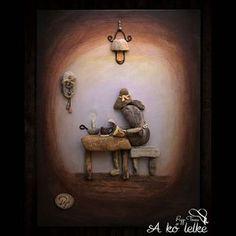 Szabó Magda emlékére ❤️ #akőlelke #papptimi #kavicsképek #pebbleart #stoneartist #pebbleartist#pt #kavicsművészet #rockart #szabómagda