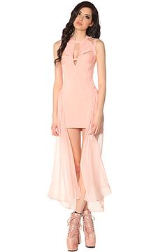 The Godspeed Dress in Pink by UNIF
