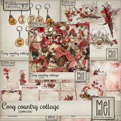 Cosy country cottage - Collection By Mel Designs