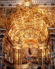 São Francisco Church, Salvador, Brazil by bobindrums, via Flickr