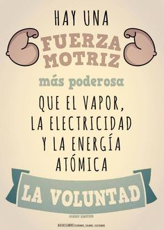 Fuerza de voluntad #motivation