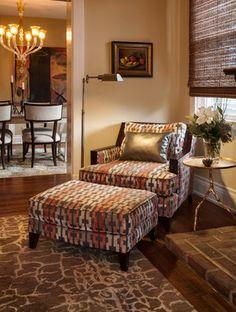Interior Designer's Residence - traditional - Living Room - Cincinnati - Amy Schuermann Interiors