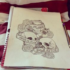 New tattoo drawing by me - hope you guys like it