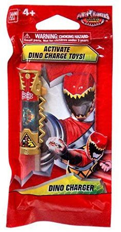 SDCC 2105 Bandai Exclusive - Power Rangers Dino Charge - Red Dino Charger