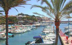 The port of Cala Ratjada, Mallorca, Spain.