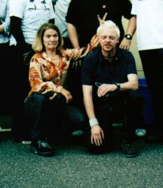 Jessica Hynes & Simon Pegg - Writers of Spaced