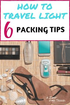 6 tips for packing light. Hand-luggage only packing hand luggage 6 Pro Packing Tips for How To Travel Light! Holiday Packing Lists, Packing Tips For Travel, Travel Advice, Travel Essentials, Travel Bags, Luggage Packing, Passport Travel, Travel Necessities, Travel Ideas