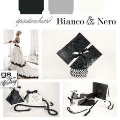 La purezza del bianco incontra l'eleganza del nero per creare uno stile moderno e sensuale.  La sposa che sceglie questi contrasti ama distinguersi e giocare sulla particolarità del dettaglio.