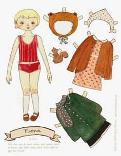 Paper Dolls from The Black Apple