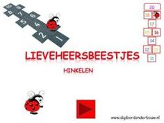 Lieveheersbeestjes hinkelen (digibord onderbouw)