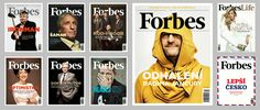 Forbes Czech - covers and main stories — Editorial design