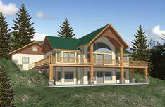 Cabin House Plans, Basement House Plans, Ranch House Plans, Craftsman House Plans, New House Plans, Walkout Basement, Modern Basement, Contemporary Style Homes, Contemporary House Plans