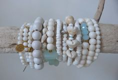 beachcomber white mermaid bracelets