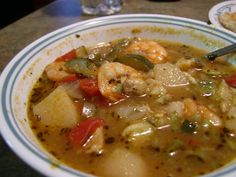 MMMM, Mexican Seafood Soup