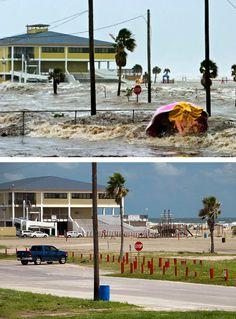 Hurrican Ike, B&A pics, Houston Metro Area Hurricane History, Texas Hurricane, Hurricane Katrina, Galveston Texas, Galveston Island, Texas City Explosion, Katrina Picture, Texas Weather, America