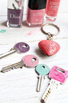 Decorar unas llaves