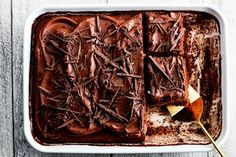 This One-Bowl Cake Will Make You Rethink Chocolate