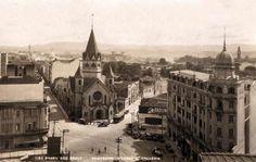 Igreja de Santa Ifigênia e seus arredores no final da década de 20