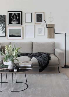 In the last instalment of the BoConcept Sofa Series I revealed my choice of the Carlton sofas in two different fabrics. Living Room Grey, Living Room Interior, Home And Living, Living Room Decor, Boconcept Sofa, House Furniture Design, Home Furniture, Living Room Designs, Living Spaces