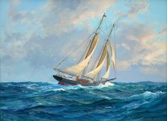 Charles Vickery: Original Paintings: Item# 18818A