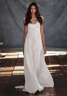Paedra Lace Bridal Gown Romantique Claire Pettibone