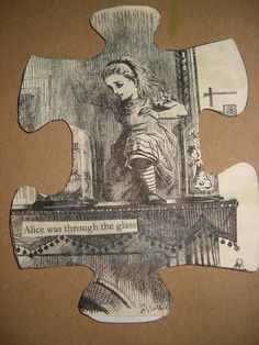 Altered puzzle piece....HUGE stray piece