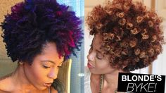From Colorful Natural Hair to Blonde   askpRoy