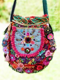 Tropfentasche, Schnitt Farbenmix Taschenspieler II