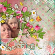 Boho Spring by Véro the French Touch  [url=http://www.thedigichick.com/shop/Vero-The-French-Touch/]TDC[/url] Photo from Femke and her daughter