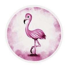 #cute Flamingo Edible Frosting Rounds - #Chocolates #Treats #chocolate