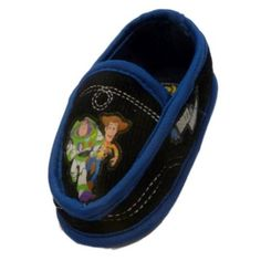 DisneyToddler Boys Blue Toy Story Slippers Loafers House Shoes Woody Buzzy Disney. $16.99