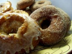Old-Fashioned Cake Doughnuts Recipe from The Bakers Dozen