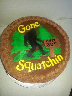 Yes It S Hard To Find A Quot Bigfoot Quot Cake At Your Local