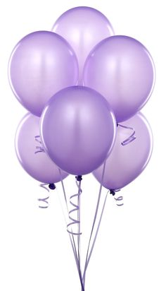 Lilac Budget Party Balloons (Pack of 25)
