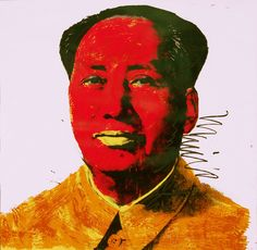 Mao    Andy Warhol, American, 1928 - 1987  Mao, 1972  Screenprint  36 x 36 in  2010.11.5    Museum purchase, partial gift of Mary and Michael J. Tatalovich  Collection of the Haggerty Museum of Art, Marquette University