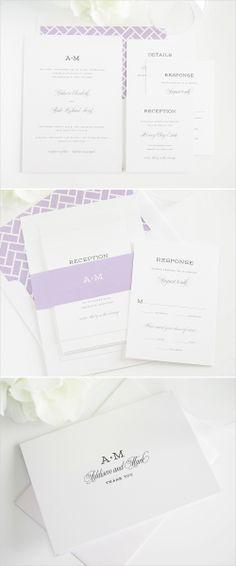 french garden wedding invitations #invitations #lavender #purple #wedding http://www.shineweddinginvitations.com/wedding-invitations/french-garden-wedding-invitations
